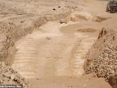 Древний пандус в Египте