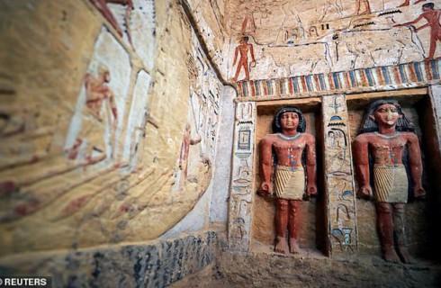 Египет представил единственную в своем роде 4400-летнюю могилу древнего первосвященника