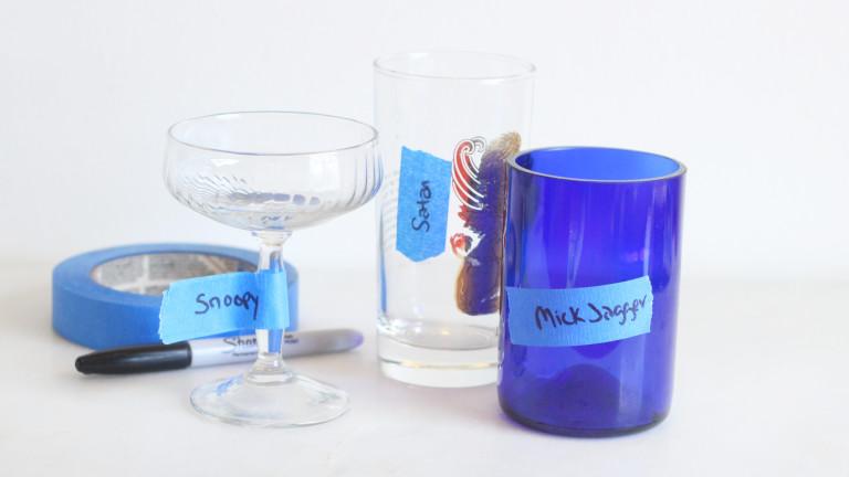 Лучший способ не потерять свой стакан на вечеринке