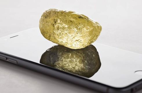 Желтый алмаз в подарок от Санты