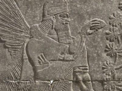 3000-летняя ассирийская скульптура