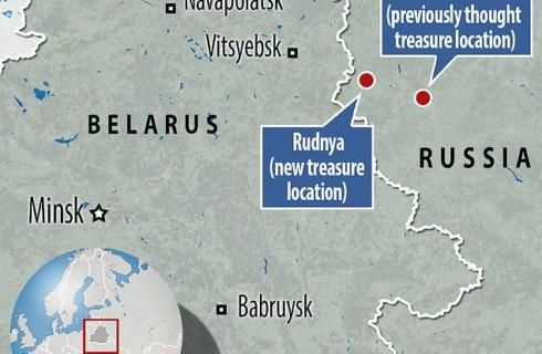 Потерянное золото Наполеона скрывается в одном из озер Смоленской области