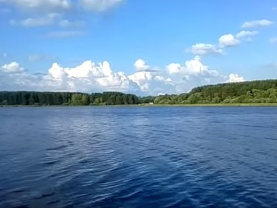 Озеро Большая Рутавечь