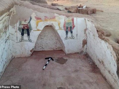Находка у оазиса Дахла